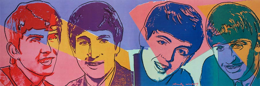 beatles by warhol