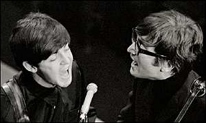 paul and john singing