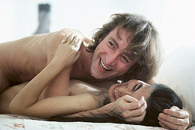 John and Yoko Happy