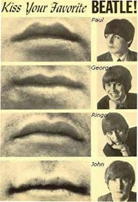 kiss a beatle