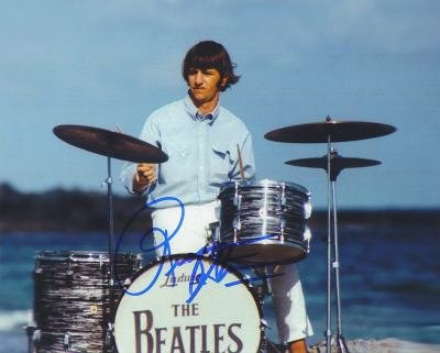ringo at the drums